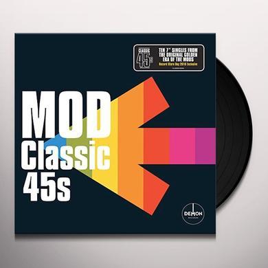 CLASSIC 45'S: MOD / VARIOUS (BOX) (UK) CLASSIC 45S: MOD / VARIOUS Vinyl Record