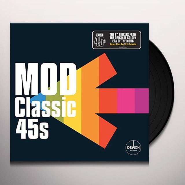 CLASSIC 45'S: MOD / VARIOUS (BOX) (UK) CLASSIC 45'S: MOD / VARIOUS (BOX) Vinyl Record - UK Import