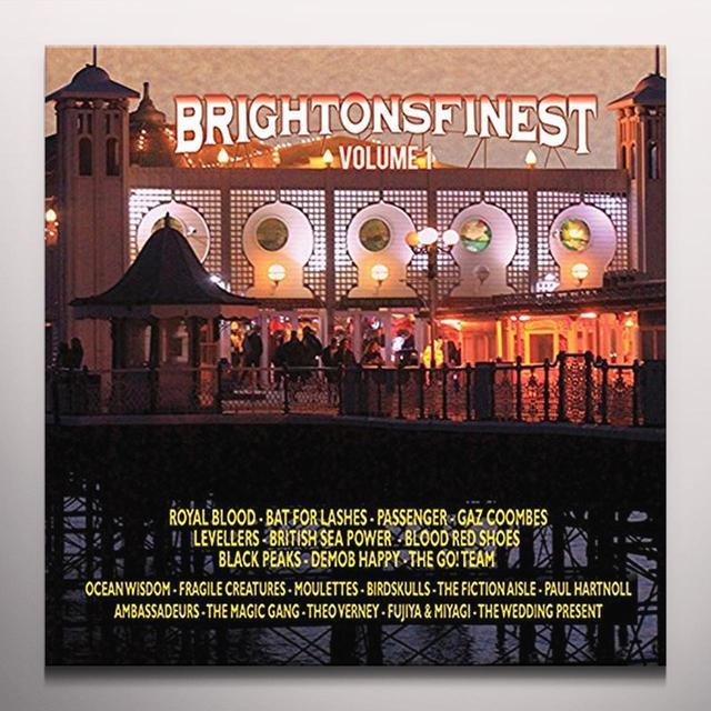 BRIGHTON'S FINEST / VARIOUS (COLV) (UK) BRIGHTON'S FINEST / VARIOUS Vinyl Record - Colored Vinyl, UK Import