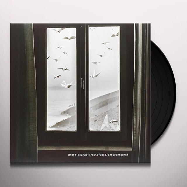 Giorgio Canali & Rossofuoco PERLE PER PORCI Vinyl Record - Italy Import