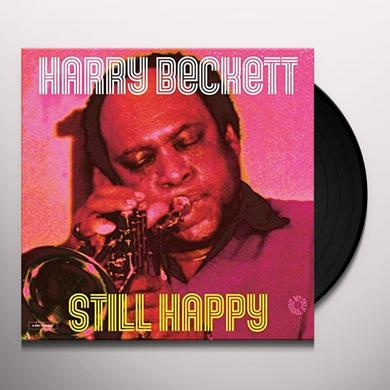 Harry Beckett STILL HAPPY Vinyl Record