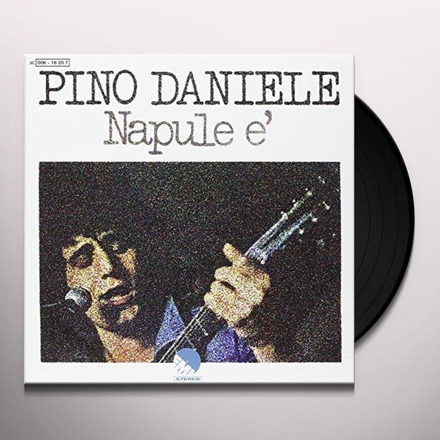 Daniele Pino NAPULE E / NA TAZZULELLA 'E CAFE Vinyl Record - Italy Release
