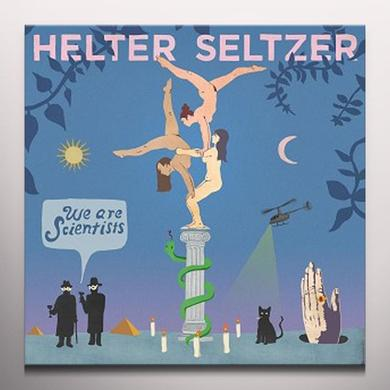 We Are Scientists HELTER SELTZER Vinyl Record - Colored Vinyl, UK Release