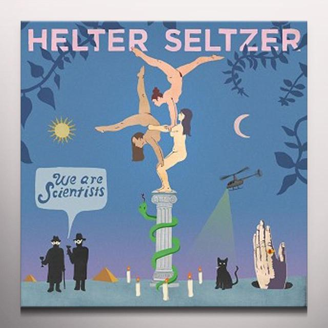 We Are Scientists HELTER SELTZER Vinyl Record - Colored Vinyl, UK Import