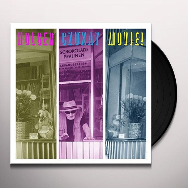 Holger Czukay MOVIE Vinyl Record - UK Release