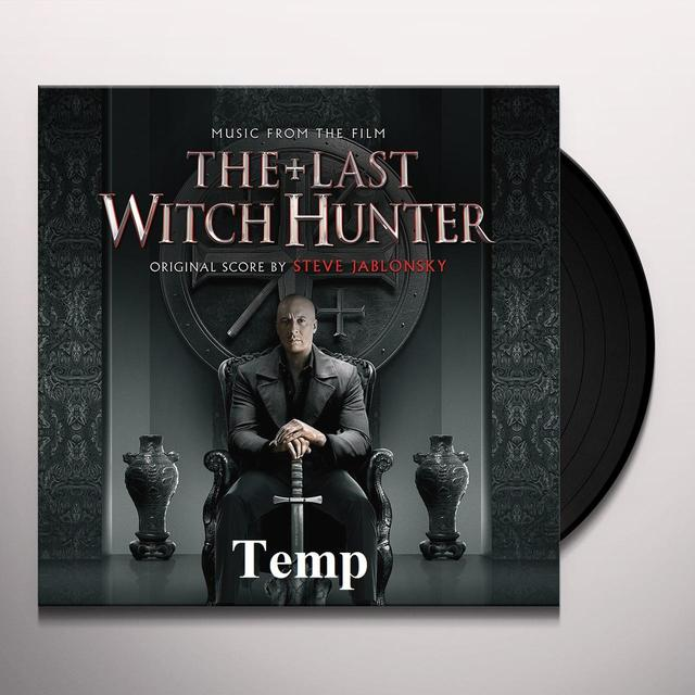 Steve Jablonsky LAST WITCH HUNTER (SCORE) / O.S.T. Vinyl Record