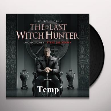 Steve Jablonsky LAST WITCH HUNTER (SCORE) / O.S.T. Vinyl Record - 180 Gram Pressing, Digital Download Included