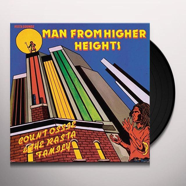 COUNT OSSIE & THE RASTA FAMILY MAN FROM HIGHER HEIGHTS Vinyl Record