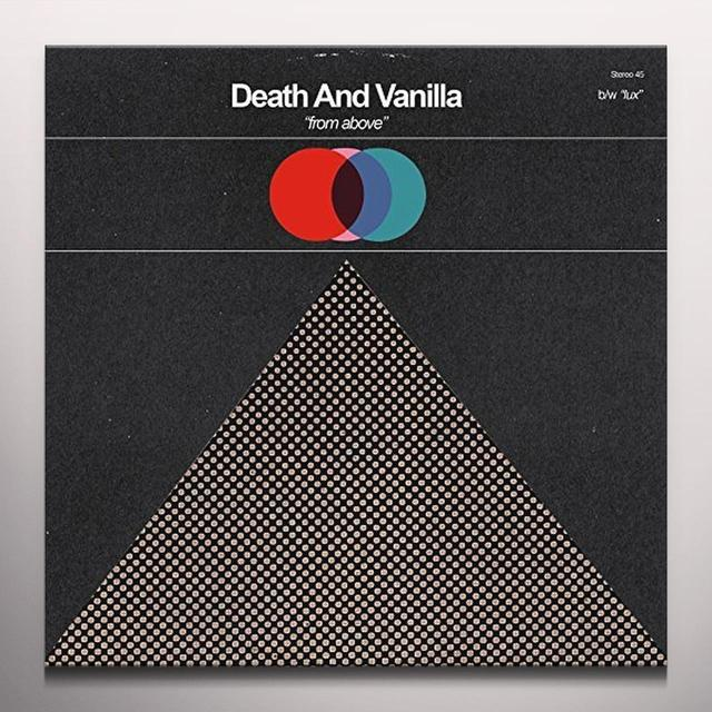 Death And Vanilla FROM ABOVE Vinyl Record - Colored Vinyl