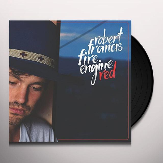 Robert Francis FIRE ENGINE RED Vinyl Record - 10 Inch Single