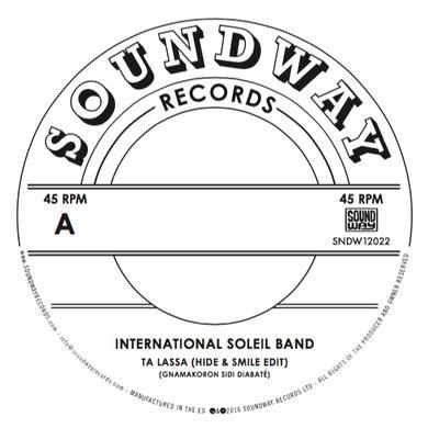INTERNATIONAL SOLEIL BAND TA LASSA Vinyl Record