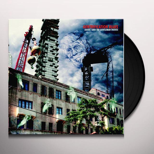 DAVID J & THE GENTLEMEN THIEVES / DARWIN GENTRIFICATION BLUES / HORRIBLE COCCOON Vinyl Record
