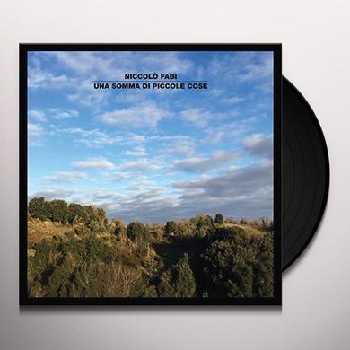 Niccolo Fabi UNA SOMMA DI PICCOLE COSE Vinyl Record - Italy Import