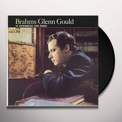 Glenn Gould 10 INTERMEZZI FOR PIANO Vinyl Record - UK Import