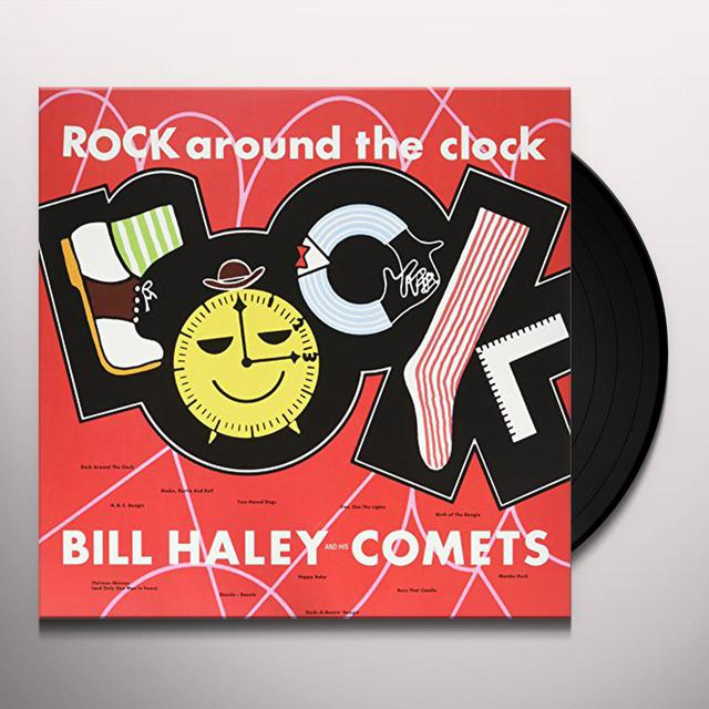 Bill Haley ROCK AROUND THE CLOCK Vinyl Record