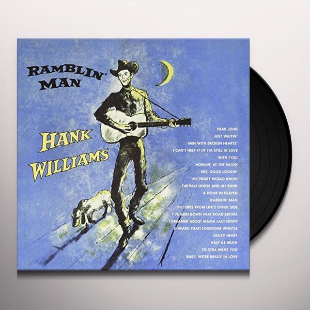 Hank Williams RAMBLIN MAN Vinyl Record - UK Import