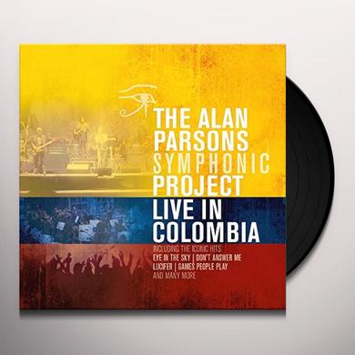 Alan Symphonic Project Parsons LIVE IN COLUMBIA Vinyl Record - UK Import