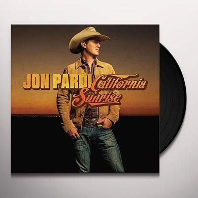 Jon Pardi CALIFORNIA SUNRISE Vinyl Record