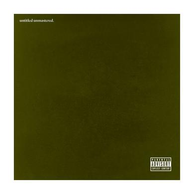 Kendrick Lamar UNTITLED UNMASTERED Vinyl Record