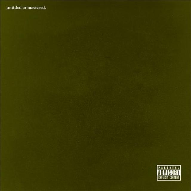 Kendrick Lamar UNTITLED UNMASTERED Vinyl Record