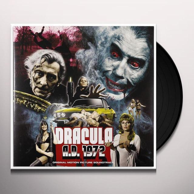 Mike Vickers DRACULA A.D. 1972 / O.S.T. Vinyl Record - Black Vinyl, Gatefold Sleeve, 180 Gram Pressing
