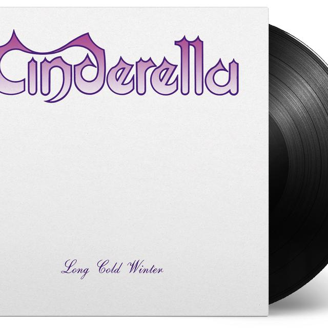 Cinderella LONG COLD WINTER Vinyl Record - Holland Import