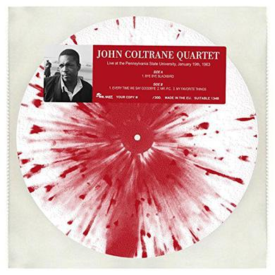 John Coltrane LIVE AT THE PENNSYLVANIA STATE UNIVERSITY 1963 Vinyl Record