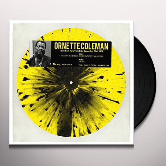 Ornette Coleman LIVE AT THE TOWN HALL NYC 12/21/62 Vinyl Record - Italy Import