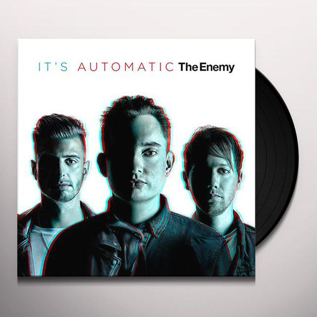 Enemy IT'S AUTOMATIC Vinyl Record - UK Import