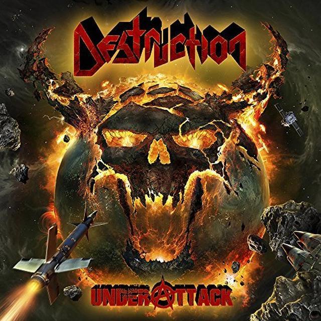 Destruction UNDER ATTACK Vinyl Record - UK Import