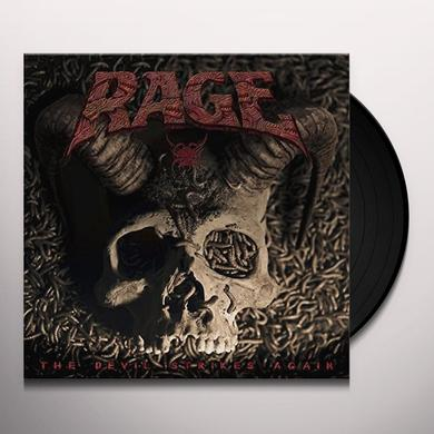 Rage DEVIL STRIKES AGAIN Vinyl Record - UK Import