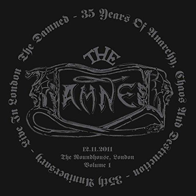 The Damned 35 YEARS OF ANARCHY CHAOS & DESTRUCTION Vinyl Record - Italy Release