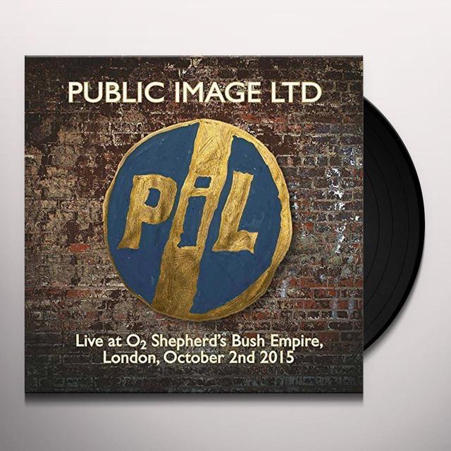 Public Image Ltd ( Pil ) LIVE AT O2 SHEPHERDS BUSH EMPIRE Vinyl Record - Italy Import