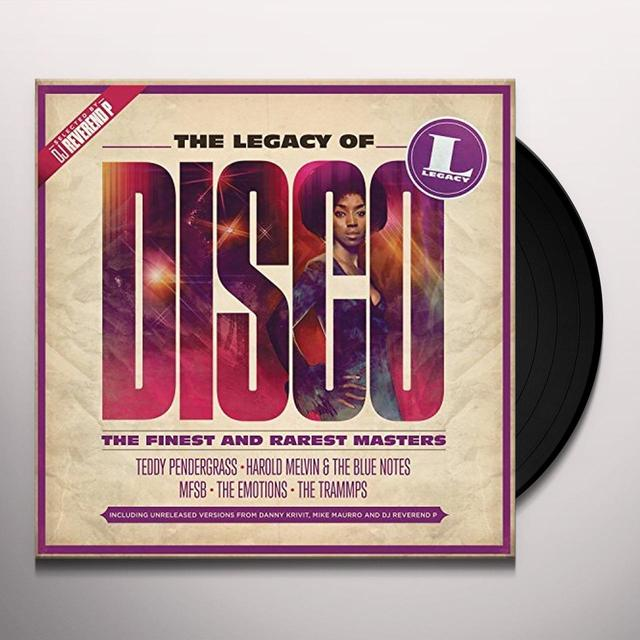 LEGACY OF DISCO / VARIOUS (UK) LEGACY OF DISCO / VARIOUS Vinyl Record