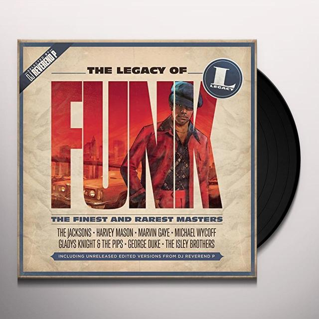 LEGACY OF FUNK / VARIOUS (UK) LEGACY OF FUNK / VARIOUS Vinyl Record