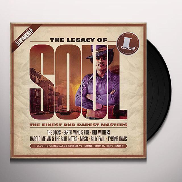 LEGACY OF SOUL / VARIOUS (UK) LEGACY OF SOUL / VARIOUS Vinyl Record