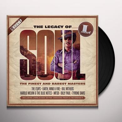 LEGACY OF SOUL / VARIOUS (UK) LEGACY OF SOUL / VARIOUS Vinyl Record - UK Import