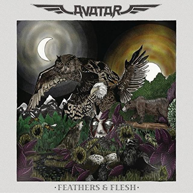 Avatar FEATHERS & FLESH Vinyl Record - Holland Import