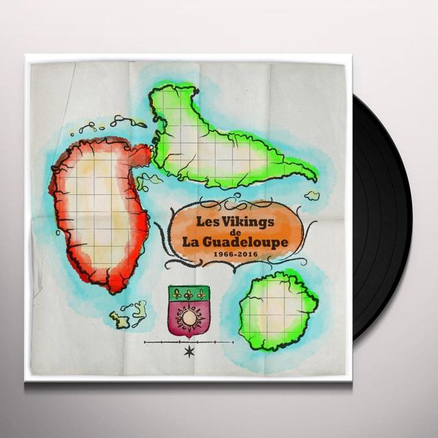 LES VIKINGS DE LA GUADELOUPE BEST OF: ENKO ON TI TOU Vinyl Record - UK Import