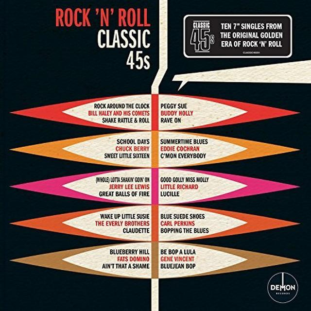 ROCK N ROLL: CLASSIC 45'S / VARIOUS (BOX) (UK) ROCK N ROLL: CLASSIC 45'S / VARIOUS (BOX) Vinyl Record - UK Import