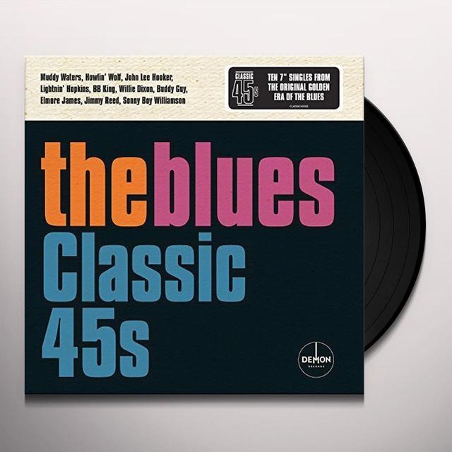 BLUES: CLASSIC 45'S / VARIOUS (BOX) (UK) BLUES: CLASSIC 45'S / VARIOUS (BOX) Vinyl Record - UK Import