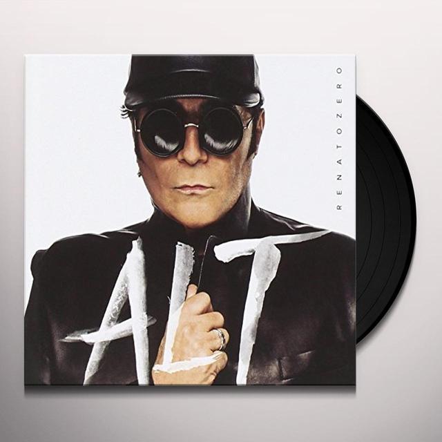 Renato Zero ALT Vinyl Record - Italy Import