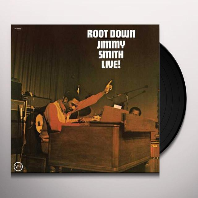 Jimmy Smith ROOT DOWN Vinyl Record