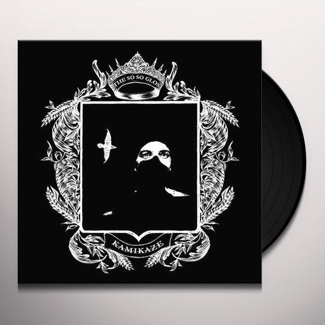 So So Glos KAMIKAZE Vinyl Record - Gatefold Sleeve