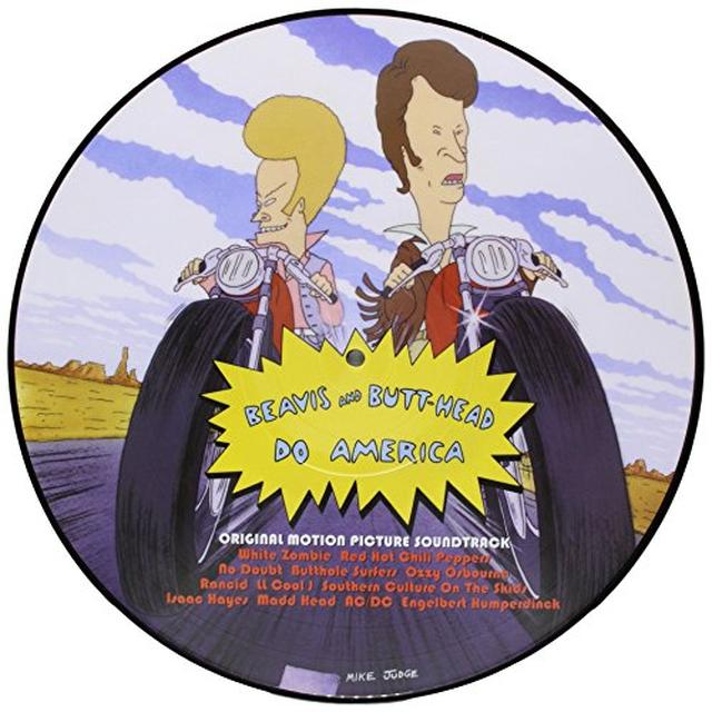 BEAVIS & BUTT-HEAD DO AMERICA / O.S.T. (PICT) BEAVIS & BUTT-HEAD DO AMERICA / O.S.T. Vinyl Record - Picture Disc
