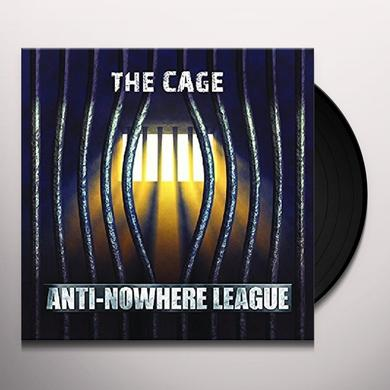 Anti-Nowhere League CAGE Vinyl Record