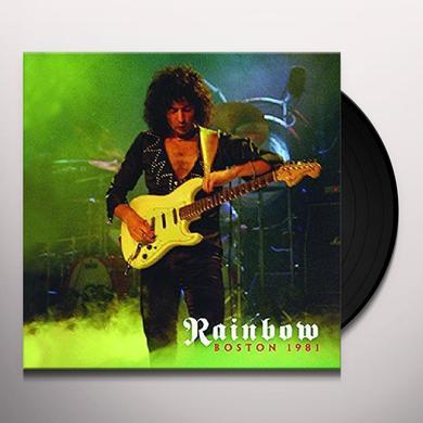 Rainbow BOSTON 1981 Vinyl Record