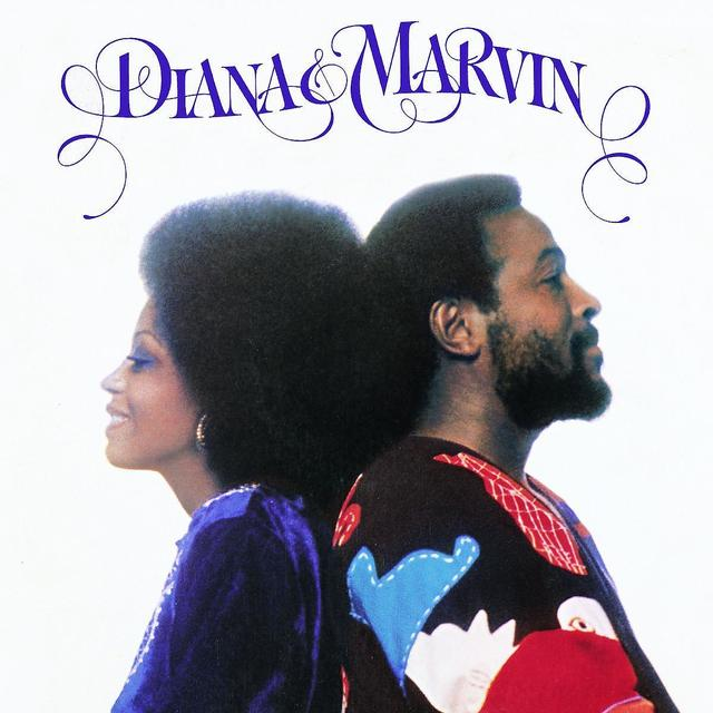 Marvin Gaye DIANA-MARVIN Vinyl Record