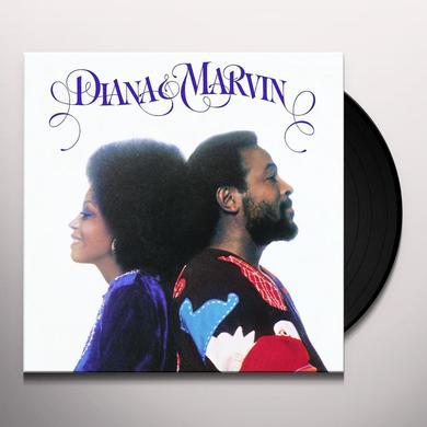 Marvin Gaye DIANA-MARVIN Vinyl Record - 180 Gram Pressing