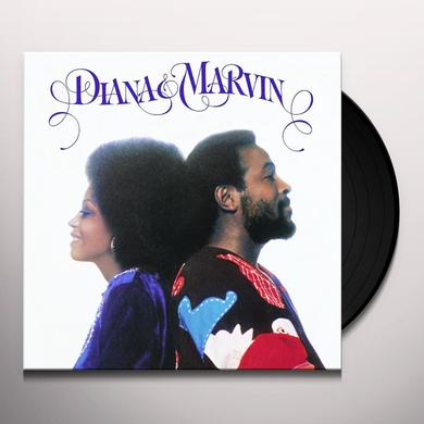 Marvin Gaye DIANA-MARVIN Vinyl Record - 180 Gram Pressing
